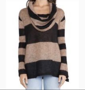 Free People Sweaters - Free People Lulu Rugby Cowl Sweater size xs